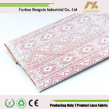 2015 New lace fabric The whole picture of lace lace fabric Kam ammonia small geometric lace squares sole dress fabric lace