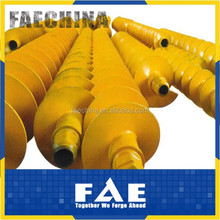 FAECHINA-continuous fight auger for bored file construction- CFA auger series,rotary long auger