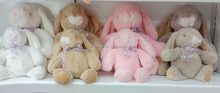 Valentine day gifts high qualityrabbit plush toy/various long ear stuffed plush bunny
