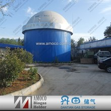 2015 Excellent quality promotional bolted steel storage tanks for biogas fermentation