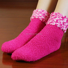 Turn cuff popcorn and cozy ladies beautifl knitted socks