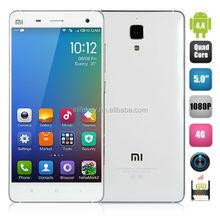 Xiaomi Mi4 Mi 4 64 GB Cell Phone MIUI V5 Qualcomm Snapdragon 801 Quad Core 2.5GHz 5.0 Inch 1920*1080 Smartphone
