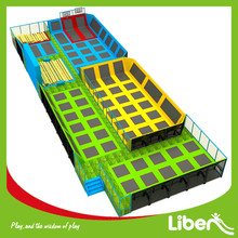 Adult Indoor Huge Inflatable High Jump Sports Trampoline Center with Different Fuction Area and Detail Size