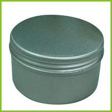 Bottom price new coming aluminum decorative candle jars