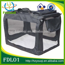 Mesh and Steel Frame Durable Pet Carrier Dog Crate Cotton Bag