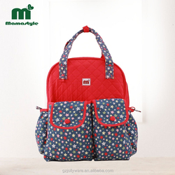 2015 new design and attactive mummy bag creative diaper bag for mommy travel
