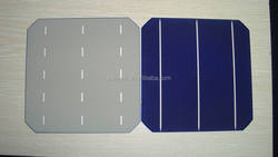 """2015 High Efficiency A grade 156mm x156mm Size 6"""" Triple Junction Solar Cell"""