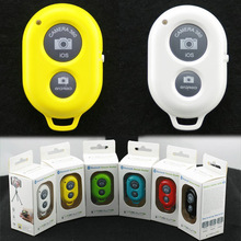 Wholesale bluetooth remote shutter for IOS Android iPhone Samsung HTC