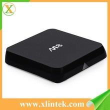 2015 best selling M8 smart iptv box m8n iptv streamer blue film full movies arabic tv channels live streamig