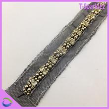 decorative bead embroidery lace trim
