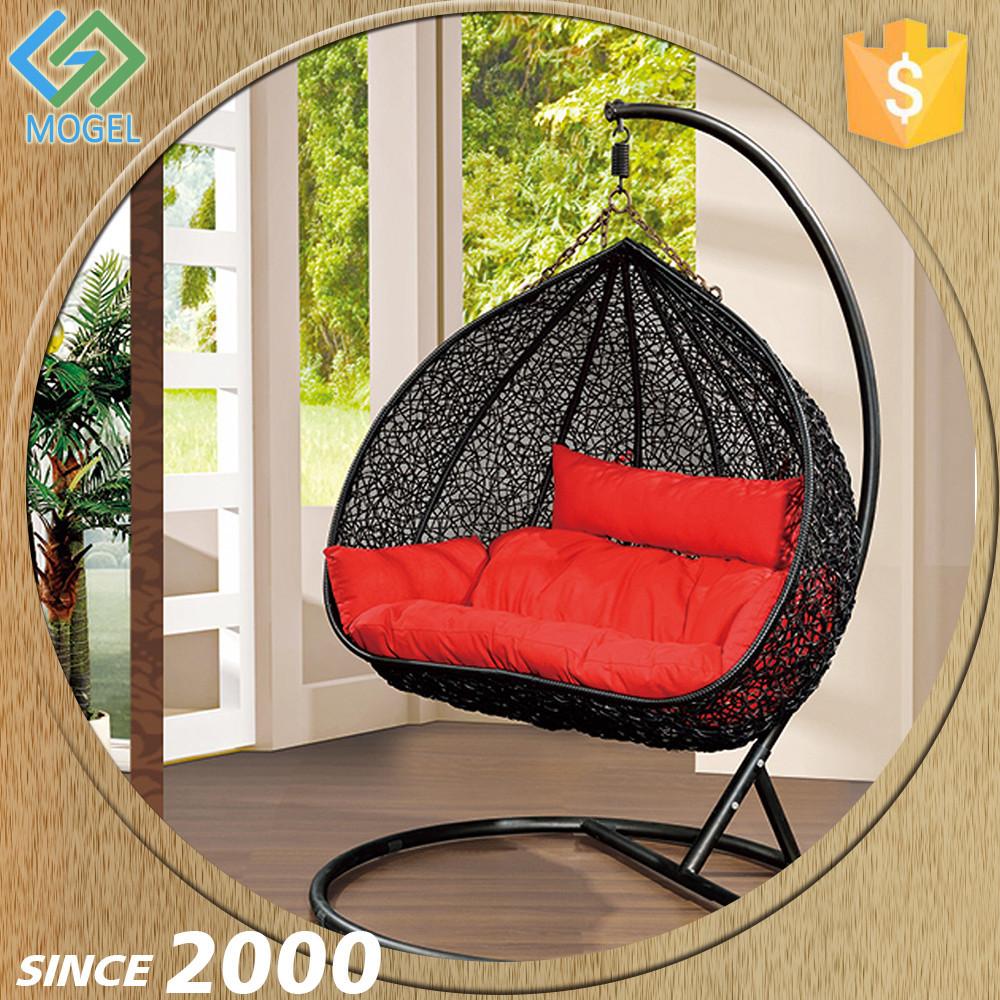 Alibaba mogel egg shape hammock children hanging indoor for T shaped swing set
