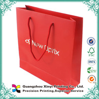 Cheap Full Color Hot Stamping Packing Paper Bag for Clothes