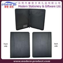 Real leather file folders