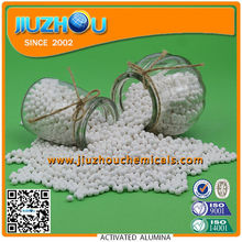 Activated Alumina for Absorbent of H2O2