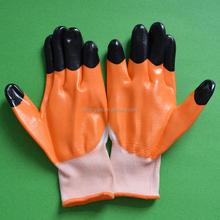 13G 55g reinforce low price nitrile gloves/oil resistant gloves