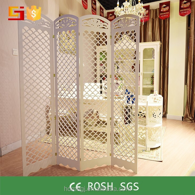 Eco friendly home decor room divider plastic folding - Plastic room divider screen ...