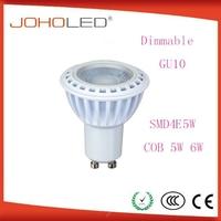 Novel design led gu10 led light aluminum and dimmable led GU10