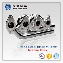 Hot sale titanium 1 inch es c180 tail car exhaust pipe motorcycle, tips w204