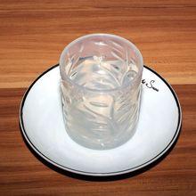 customized oem flower figure silicone wine glass