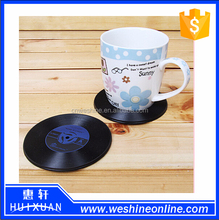 silicone cup pads,silicone coaster,anti-slip small silicone pad mat