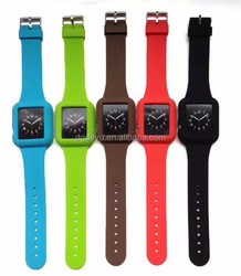 2015 Silicon watch strap for Apple silicone Watch band with adapter