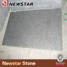 Newstar black granite flamed brushed