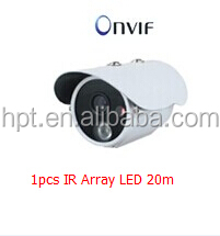 1pcs IR Array Led 20M H.264 Professional IP Camera