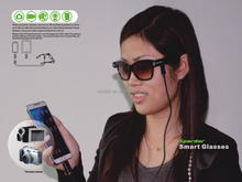 New arrival High end Intelligent Smart glasses with Camera + Doze reminder, Bluetooth + Flash light + MP3 player + GPS