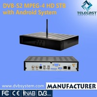 DVB-S2 Android Set Top Box