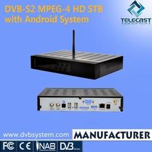 DVB-S2 Android Set Top Box