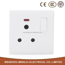 Interruptor eléctrico y toma de interruptor