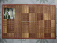Set of 4 or 6 Bamboo placemat 12inch X 18inch Dining Table Mats