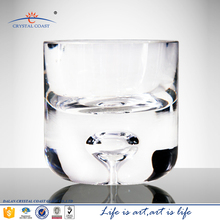 wholesale glass cup hotel decoration,handmade glass cup for candle decoration