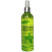 Luxurious room spray with refreshing peppermint oil and lime extract and nice fragrance