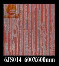 red color metal glazed floor tile