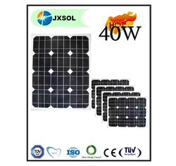 40w mono high efficiency solar panel for Brazil Australia and Canada