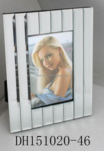 Low price new disign multi mirror photo frame velvet back