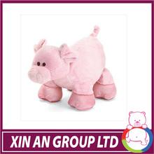 QZX07/ASTM/ICTI/SEDEX2015 latest design cute plush pig