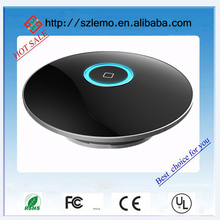 2014 newest all black PMMA material,CNC process titanium steel base home automation controller