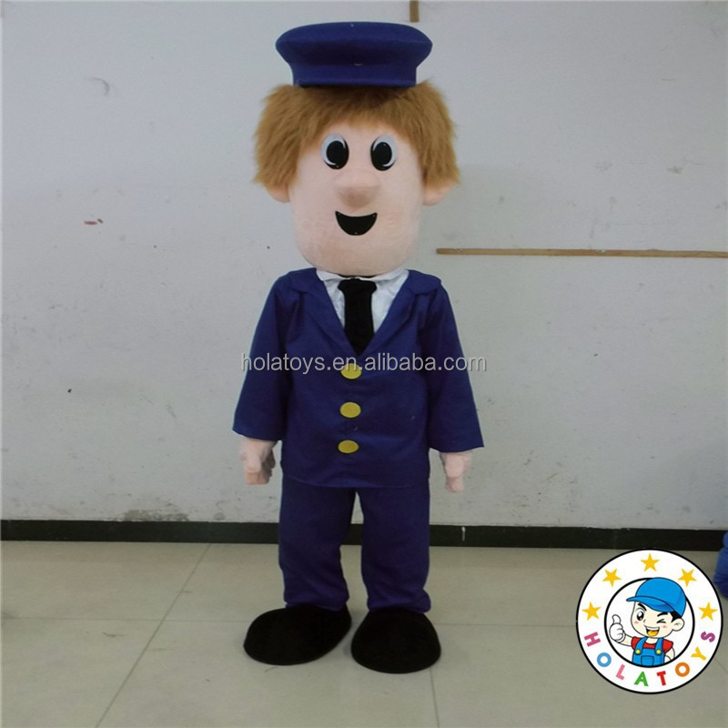 Nuovo postino costume della mascotte/Personalizzato fumetto della mascotte fornitore