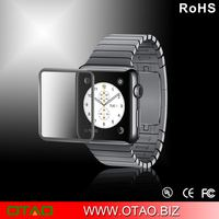 OTAO new popular with retail package tempered glass screen protector 0.15MM full cover for apple watch factory wholesale