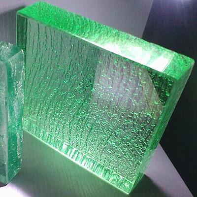 led bar glass top