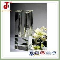 2015 Stage Design Crystal Flower Vase Handmade Designs For Wedding Decoration