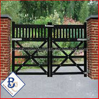 Custom Made Traditional Forged-Iron Fence And Gate