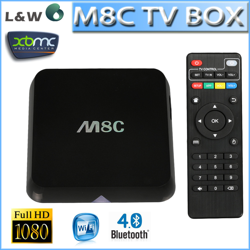 New Arrival M8 Android TV Box Quad Core Amlogic S812 Set Top Box Pre-installed XBMC
