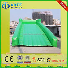 Best quality low price green dragon inflatable slide