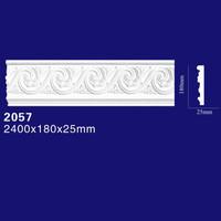 Luxury Ceiling Design Foam Cornice Board For Modern Home