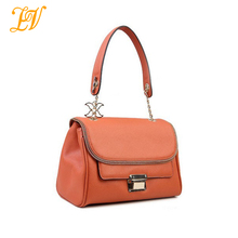 2014 new product women fashion candy color cow leather single shoulder bag