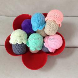 crochet sweets, crochet cupcakes, donat toys