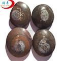 Symbole de guérison chakra reiki gravé chance, pierre en pierre